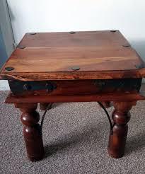 Indian Coffee Table Indian Sheesham Wood Small Square Coffee Table Lamp Side Table