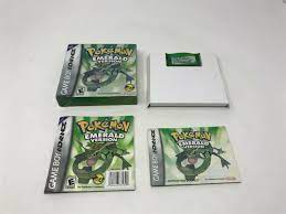 Neuer Gegenstand Pokemon Emerald- Nintendo Game Boy Advance GBA - Complete  in box with poster Engagiert für -longhorn.com.pe