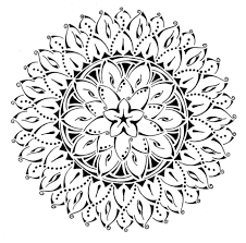 tribal coloring pages. Exellent Tribal Floral Tribal Mandala Coloring Page On Coloring Pages I