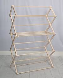 Wooden Drying Rack For Laundry