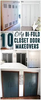 french closet doors diy. DIY Bi-Fold Closet Door Makeovers French Doors Diy D