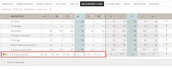 Create Measurement Chart Help Site