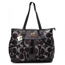 Coach In Monogram Medium Coffee Totes BXU