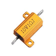 <b>3pcs RX24 10W</b> 1R 1RJ me<x>tal Aluminum Case High Power ...