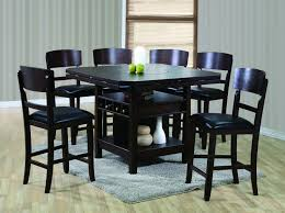 crown mark conner contemporary counter height table  wayside