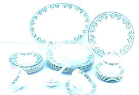 clear glass dishes glass dish sets glass dinnerware set sets made in clear red plates reviews