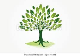 Symbole, arbre, écologie, logo. Arbre, conception, illustration, symbole,  icône, image, toile, vecteur, écologie, logo,   CanStock