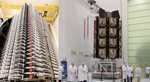 Each starlink satellite weighs 500 lbs. Spacex Starlink Factory Building Satellites Four Times Faster Than Closest Competitor