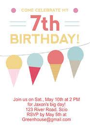 Free Printable Birthday Invitation Templates For Kids 7th Birthday Invitation Template Free Greetings Island