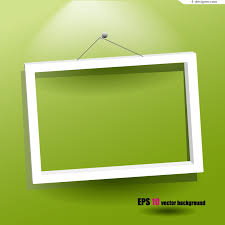 simple frame design vector material