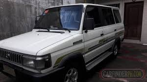 Toyota Tamaraw FX 7k Engine - New and Used Cars for Sale Philippines