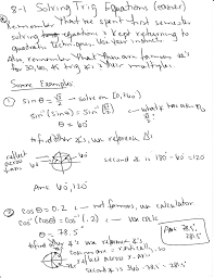 how do you use inverse trigonometric functions to find the solutions of the equation that are in the interval 0 2π