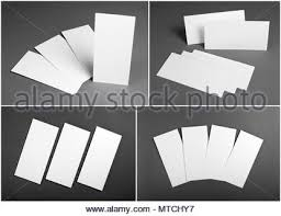 Set Of Blank White Flyers Over Wooden Background Identity Design