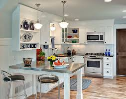 kitchen ideas 2014. Plain Kitchen Small L Shaped Kitchen With Stainless Countertop Table In Ideas 2014 N