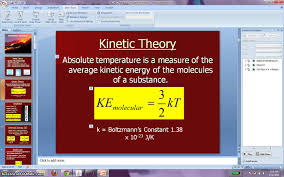 Kinetic Energy Video Ap Physics 2 Video 16 States Of Matter Kinetic Energy And