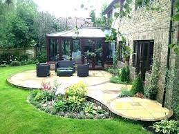 patio landscape ideas landscaping perfect for pot plant uk