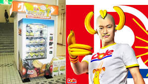Human Vending Machine Japan Fascinating Banana Vending Machine Gives Japan Yet One More Product You Can Get