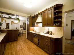Dark Walnut Kitchen Cabinets Traditional House Styles Front Door Gray House With Gray House