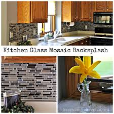 serendipity refined blog diy updates glass mosaic tile kitchen we ended up doing several small projects