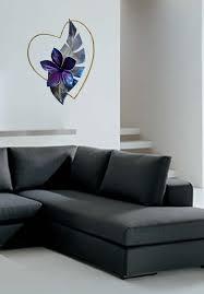 metal wall sculpture metal wall art heart with flower love art design by alex kovacs ak475