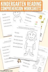 Summer Kindergarten Reading Comprehension Worksheets Orig 1 Level