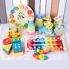 Đồ chơi phát triển trí tuệ cho bé 1 tuổi