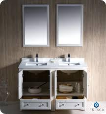 traditional double sink bathroom vanities. White Double Sink Bathroom Vanity Cabinets Oxford Traditional Alt View Name Vanities