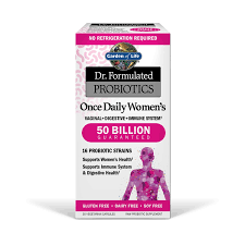 garden of life dr formulated probiotics once daily women s 50 billion