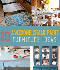 chalk paint furniture diyChalk Paint Furniture Ideas DIY Projects Craft Ideas  How Tos