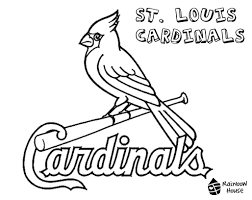 Cardinal Coloring Page Nothern Bird Best Free Coloring Pages Site