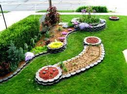 Corner Landscape Design Front Yard Flower Beds Landscaping Ideas For With  Porch Home Improvement Corner Yard