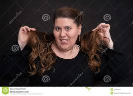 Fat Women Hair Style fat woman with long curly hair stock photo image 47042103 3644 by wearticles.com