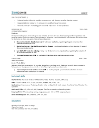 Resume Examples Content Production Specialist Page Marketing Samples