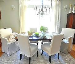 slip covered dining chairs brilliant design dining room chair slip covers ideas dining room chair slipcovers
