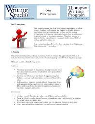 oral presentation handout original
