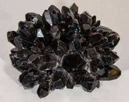 Decorative Quartz Rocks Exquisite And Rare Black Quartz Crystal Decorative Box At 1stdibs