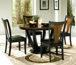 round kitchen table sets dining room adorable vintage round kitchen table set for with evening hue