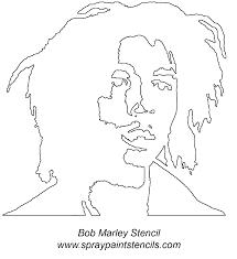 bob marley face