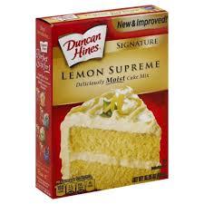 Duncan Hines Lemon Supreme Cake Mix 1525 Oz Harris Teeter