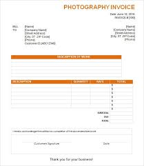 Event Photography Invoice Template Free Pdf Photography Invoice