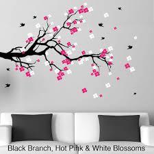 cherry blossom wall art design