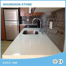 and top quality prefab quartz countertops worktops for kitchen