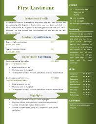 Cv Format Free Down Word Format Resume Free Download As Free Resume