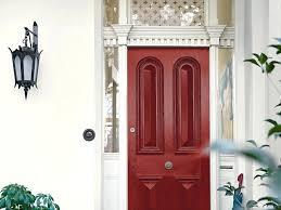 red front door dulux paint red front door