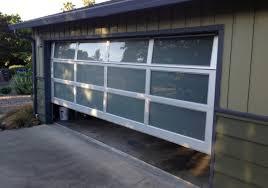 image of glass garage doors designs