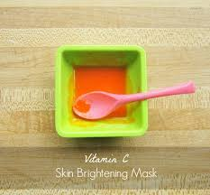 skin brightening vitamin c mask