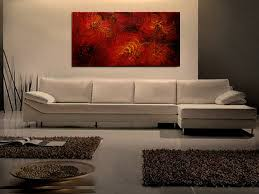modern art for office. Large Red Abstract Painting Textured Wall Art Original Passionate Home Or Office Decor Ready To Ship Modern For M