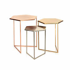 hexagonal side table champagne colored coffee table standard furniture hexagonal glass top cocktail coffee table ideas hexagonal side table