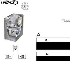 lennox merit series furnace. lenox furnace lennox merit series gas upflow/horizontal air discharge. manual