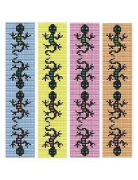 Bead Loom Bracelet Patterns Inspiration Bead Loom Bracelet Gecko Lizard Play Pattern And Similar Items